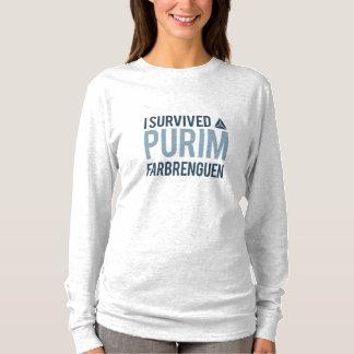 I survived a purim farbrengen T-Shirt
