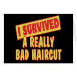 I SURVIVED A REALLY BAD HAIRCUT CARDS