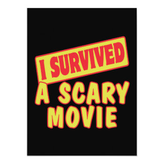 I SURVIVED A SCARY MOVIE ANNOUNCEMENTS
