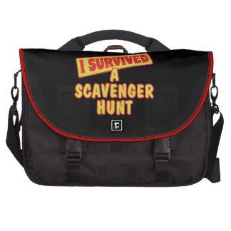 I SURVIVED A SCAVENGER HUNT COMPUTER BAG