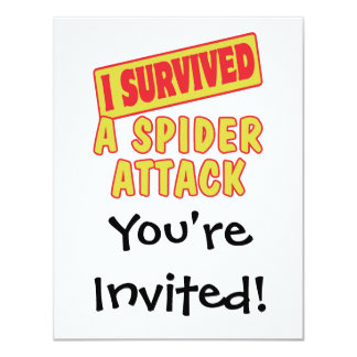 I SURVIVED A SPIDER ATTACK CARD