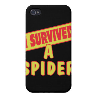 I SURVIVED A SPIDER iPhone 4/4S COVERS