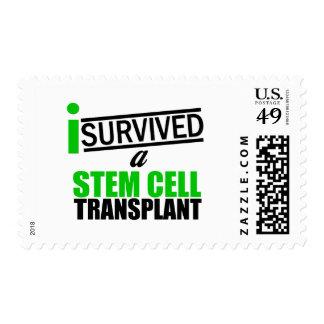 I Survived a Stem Cell Transplant Survivor v2 Postage