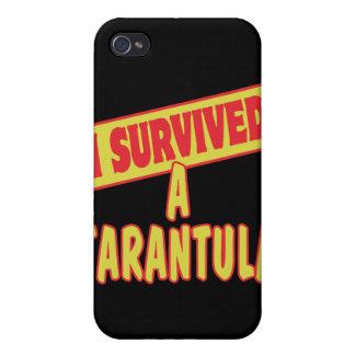 I SURVIVED A TARANTULA iPhone 4/4S CASES