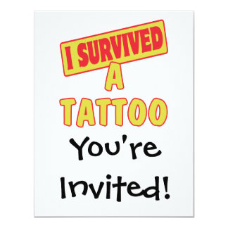 I SURVIVED A TATTOO CARD