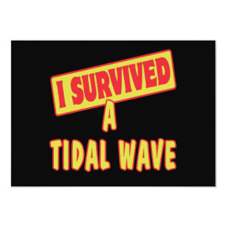 I SURVIVED A TIDAL WAVE ANNOUNCEMENTS