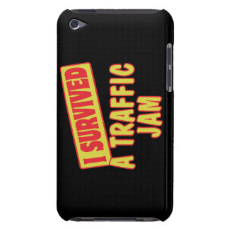 I SURVIVED A TRAFFIC JAM BARELY THERE iPod CASES