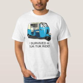 I SURVIVED A TUK-TUK RIDE tshirt