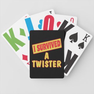 I SURVIVED A TWISTER BICYCLE CARD DECK