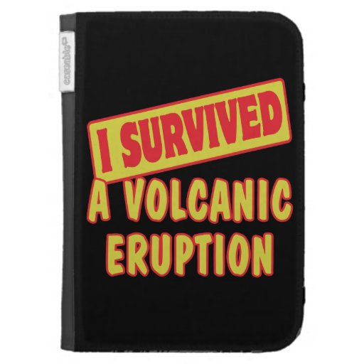 I SURVIVED A VOLCANIC ERUPTION CASES FOR THE KINDLE