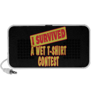 I SURVIVED A WET T-SHIRT CONTEST iPhone SPEAKERS