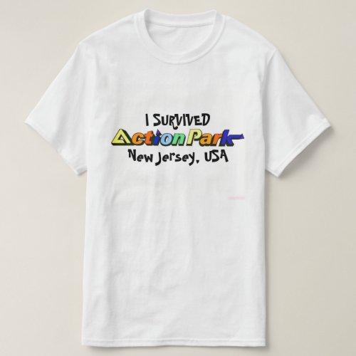 I Survived Action Park Vintage 1980s Shirt