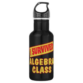 I SURVIVED ALGEBRA CLASS WATER BOTTLE