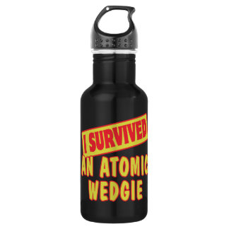 I SURVIVED AN ATOMIC WEDGIE WATER BOTTLE