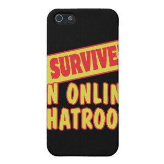 I SURVIVED AN ONLINE CHATROOM CASES FOR iPhone 5