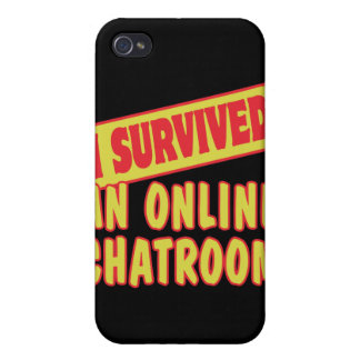 I SURVIVED AN ONLINE CHATROOM iPhone 4 CASE