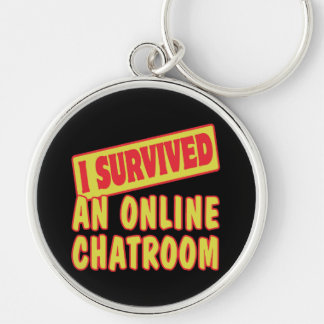 I SURVIVED AN ONLINE CHATROOM KEY CHAIN