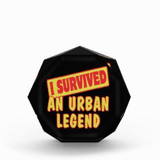 I SURVIVED AN URBAN LEGEND AWARD
