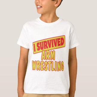 I SURVIVED ARM WRESTLING T-Shirt