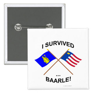 I Survived Baarle-Hertog and Baarle-Nassau Pin