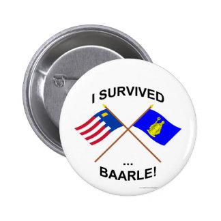 I Survived Baarle-Nassau and Baarle-Hertog Buttons