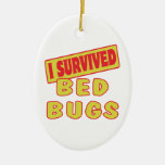 I SURVIVED BED BUGS ORNAMENT