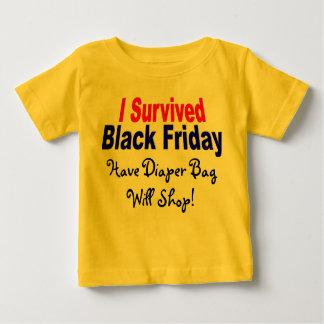 I Survived Black Friday! Baby T-Shirt