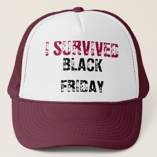 I SURVIVED BLACK FRIDAY - CAP