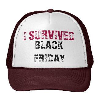 I SURVIVED BLACK FRIDAY - CAP MESH HATS