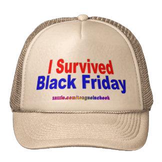 I Survived Black Friday Hat