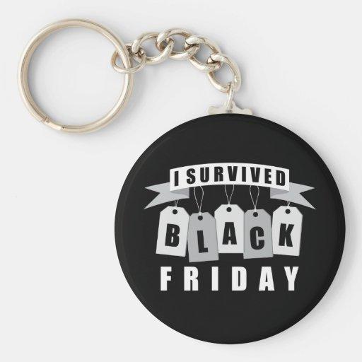 I Survived Black Friday Keychain