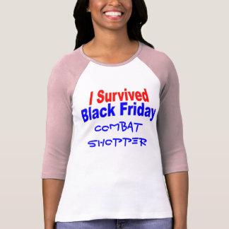 I Survived Black Friday Tee Shirt