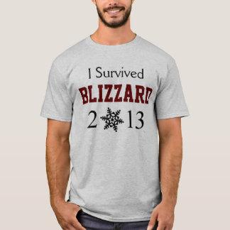 I Survived BLIZZARD 2013 Shirt