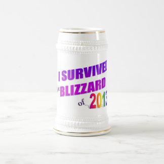 I Survived Blizzard 2013 Stein