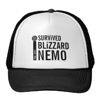 I Survived Blizzard Nemo 2013 Hat 1