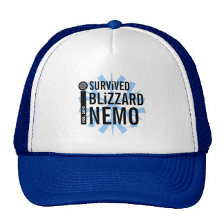 I Survived Blizzard Nemo 2013 Hat 2