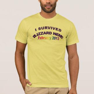 I Survived Blizzard Nemo 20 Shirt