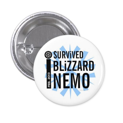 I Survived Blizzard Nemo Button 5