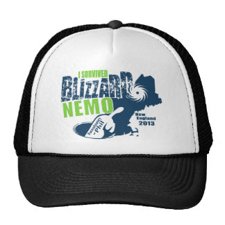 I Survived Blizzard Nemo Trucker Hat