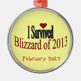 I Survived Blizzard of 2013 Ornament