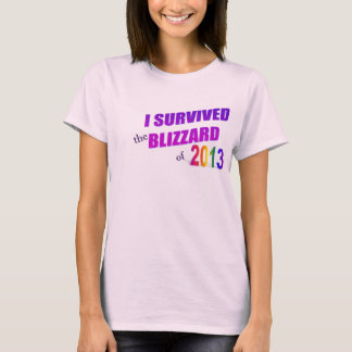 I Survived Blizzard of 2013 Shirt