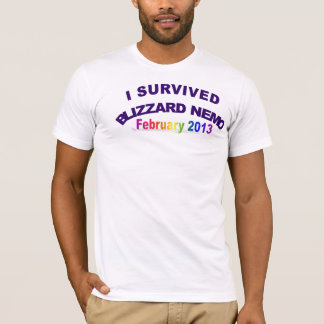 I Survived Blizzrd Nemo 2013 T-Shirt