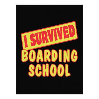I SURVIVED BOARDING SCHOOL INVITE