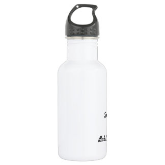 I survived bobsleighing! water bottle
