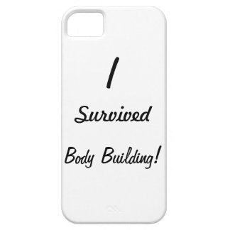 I survived body building! iPhone 5 cover