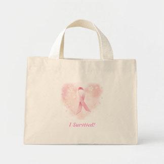 I Survived Breast Cancer! - Designer Tiny Tote