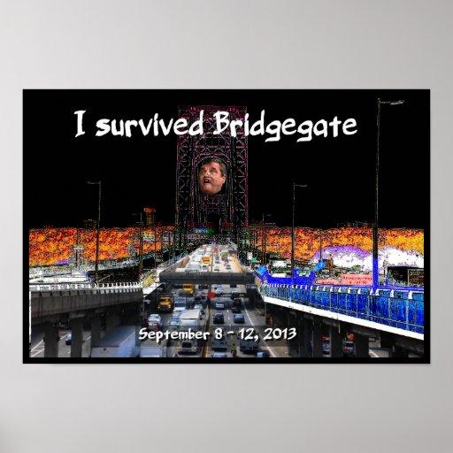 I survived Bridgegate!! Will Chris Christie? Print