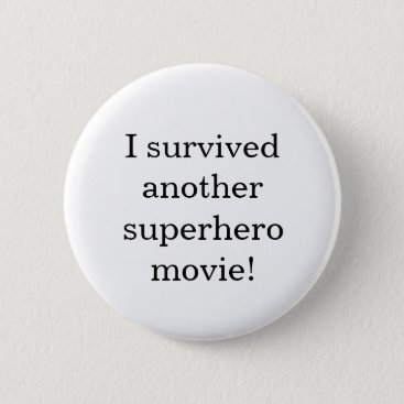 Beach Themed I survived button