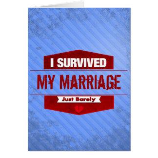 I Survived Card