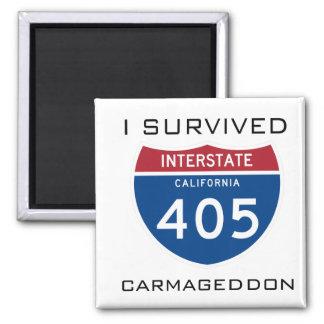 I Survived Carmageddon Magnet
